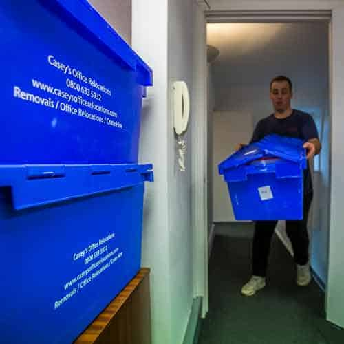 Moving and Storage Service Clerkenwell by Caseys Office Relocations