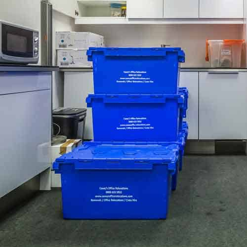 Moving and Storage Service Oxford Circus W1 by Caseys Office Relocations