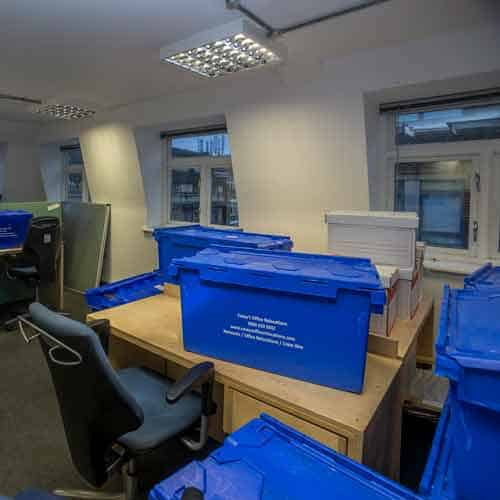 Moving and Storage Service Vauxhall SW8 by Caseys Office Relocations
