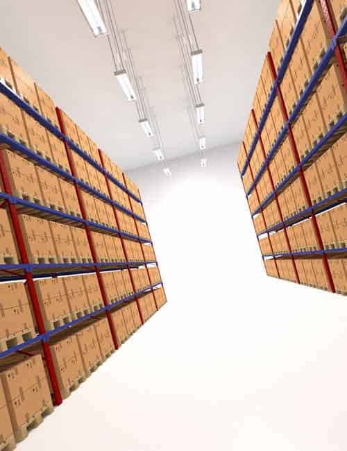 Business Storage Facility Regents Park NW1 by Caseys Office Relocations