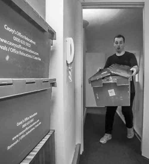 Moving and Storage Service Regents Park NW1 by Caseys Office Relocations