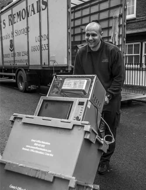 Tooting Office Removals by Caseys Office Relocations